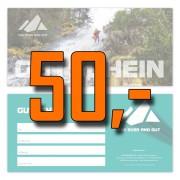 Wertgutschein in Höhe von 50 Euro